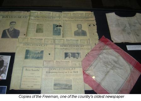 old-issues-of-freeman-in-cebu-museum